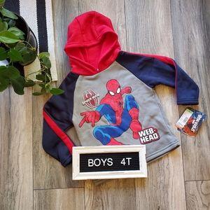 Spiderman Sweatshirt | Boys Marvel Hoodie